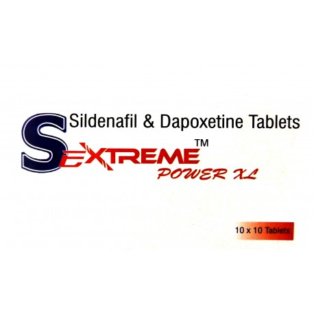 SeXtreme Power XL 160 mg tablets