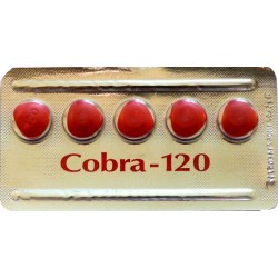 King Cobra 120mg tablets