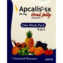 ApCalis SX Oral Jelly 100mg w żelu