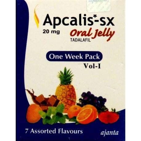Apcalis SX Oral Jelly 100mg – żelu do połknięcia